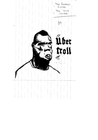 Mario Balotteli: Uber Troll by Paul Gleeson